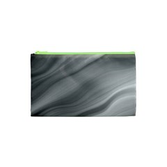 Wave Form Texture Background Cosmetic Bag (xs) by Sapixe