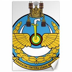 Emblem Of Royal Brunei Air Force Canvas 20  X 30   by abbeyz71