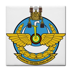 Emblem Of Royal Brunei Air Force Face Towel by abbeyz71