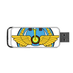 Emblem Of Royal Brunei Air Force Portable Usb Flash (two Sides) by abbeyz71