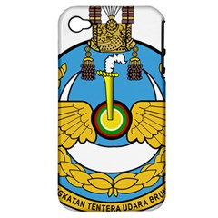 Emblem Of Royal Brunei Air Force Apple Iphone 4/4s Hardshell Case (pc+silicone) by abbeyz71