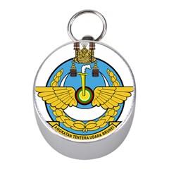 Emblem Of Royal Brunei Air Force Mini Silver Compasses by abbeyz71