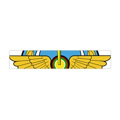 Emblem Of Royal Brunei Air Force Flano Scarf (mini) by abbeyz71