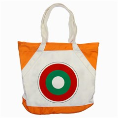 Bulgarian Air Force Roundel Accent Tote Bag by abbeyz71