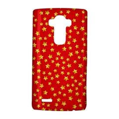Yellow Stars Red Background Lg G4 Hardshell Case by Sapixe
