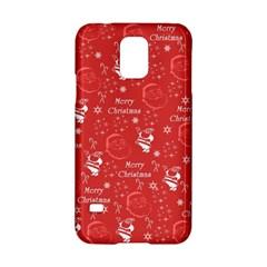 Santa Christmas Collage Samsung Galaxy S5 Hardshell Case
