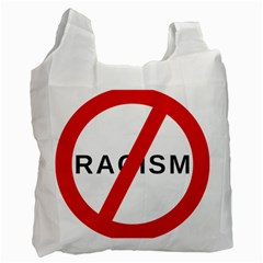 No Racism Recycle Bag (one Side) by demongstore