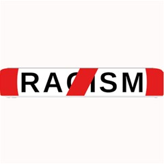 No Racism Small Bar Mats by demongstore
