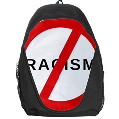No Racism Backpack Bag by demongstore