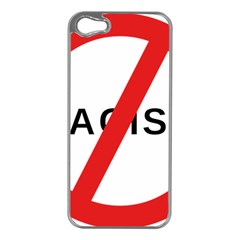 No Racism Apple Iphone 5 Case (silver) by demongstore