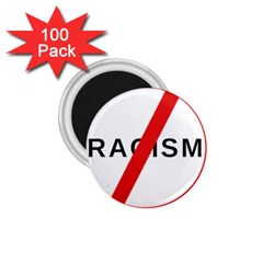 2000px No Racism Svg 1 75  Magnets (100 Pack)  by demongstore