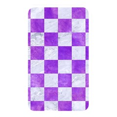 Square1 White Marble & Purple Watercolor Memory Card Reader by trendistuff