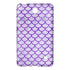 Scales1 White Marble & Purple Watercolor (r) Samsung Galaxy Tab 4 (7 ) Hardshell Case  by trendistuff