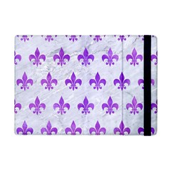 Royal1 White Marble & Purple Watercolor Ipad Mini 2 Flip Cases by trendistuff