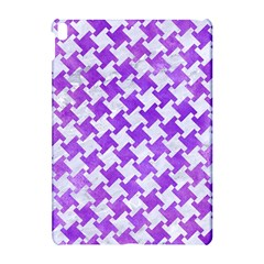 Houndstooth2 White Marble & Purple Watercolor Apple Ipad Pro 10 5   Hardshell Case by trendistuff