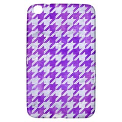 Houndstooth1 White Marble & Purple Watercolor Samsung Galaxy Tab 3 (8 ) T3100 Hardshell Case  by trendistuff