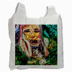 Mermaid 1 Recycle Bag (two Side)  by bestdesignintheworld