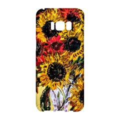 Sunflowers In A Scott House Samsung Galaxy S8 Hardshell Case