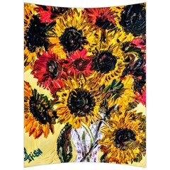 Sunflowers In A Scott House Back Support Cushion