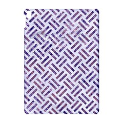 Woven2 White Marble & Purple Marble (r) Apple Ipad Pro 10 5   Hardshell Case