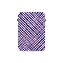 Woven2 White Marble & Purple Marble Apple Ipad Mini Protective Soft Cases by trendistuff