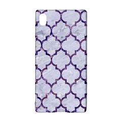 Tile1 White Marble & Purple Marble (r) Sony Xperia Z3+ by trendistuff