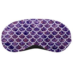 Scales1 White Marble & Purple Marble Sleeping Masks by trendistuff