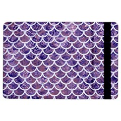 Scales1 White Marble & Purple Marble Ipad Air 2 Flip by trendistuff