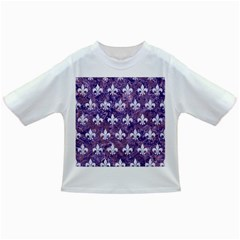 Royal1 White Marble & Purple Marble (r) Infant/toddler T Shirts
