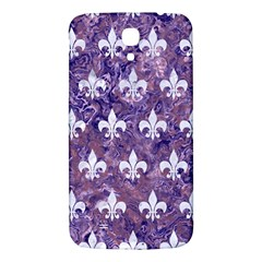 Royal1 White Marble & Purple Marble (r) Samsung Galaxy Mega I9200 Hardshell Back Case by trendistuff