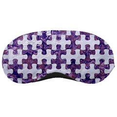 Puzzle1 White Marble & Purple Marble Sleeping Masks by trendistuff
