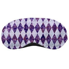 Diamond1 White Marble & Purple Marble Sleeping Masks by trendistuff
