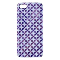 Circles3 White Marble & Purple Marble (r) Iphone 5s/ Se Premium Hardshell Case by trendistuff