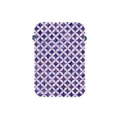 Circles3 White Marble & Purple Marble Apple Ipad Mini Protective Soft Cases by trendistuff