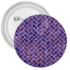 Brick2 White Marble & Purple Marble 3  Buttons by trendistuff