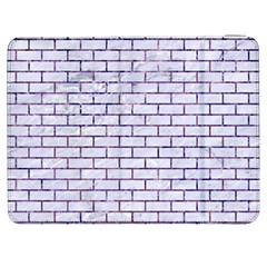 Brick1 White Marble & Purple Marble (r) Samsung Galaxy Tab 7  P1000 Flip Case by trendistuff