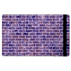 Brick1 White Marble & Purple Marble Apple Ipad 2 Flip Case by trendistuff