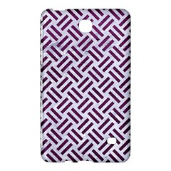 Woven2 White Marble & Purple Leather (r) Samsung Galaxy Tab 4 (8 ) Hardshell Case  by trendistuff