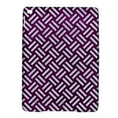 Woven2 White Marble & Purple Leather Ipad Air 2 Hardshell Cases