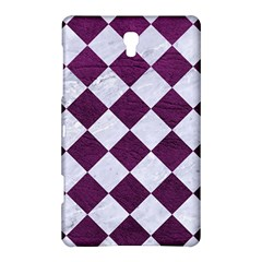 Square2 White Marble & Purple Leather Samsung Galaxy Tab S (8 4 ) Hardshell Case