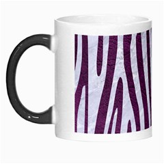 Skin4 White Marble & Purple Leather (r) Morph Mugs by trendistuff