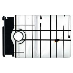 White Limits By Jandi Apple Ipad 3/4 Flip 360 Case