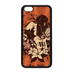 Rock Music Moves Me Apple Iphone 5c Seamless Case (black) by Sapixe