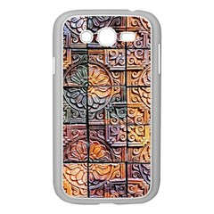 Wooden Blocks Detail Samsung Galaxy Grand Duos I9082 Case (white) by Sapixe
