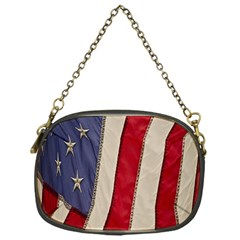 Usa Flag Chain Purses (one Side)  by Sapixe