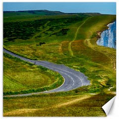 Cliff Coast Road Landscape Travel Canvas 16  X 16