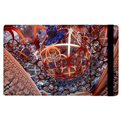 Complexity Chaos Structure Apple Ipad 2 Flip Case by Sapixe