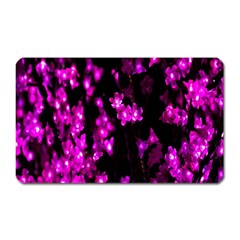 Abstract Background Purple Bright Magnet (rectangular) by Sapixe
