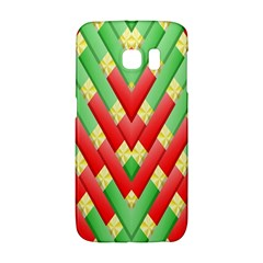 Christmas Geometric 3d Design Galaxy S6 Edge by Sapixe