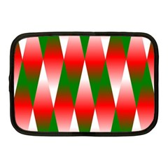 Christmas Geometric Background Netbook Case (medium)  by Sapixe